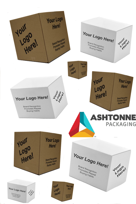 Box collage with one logo